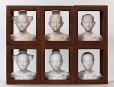 Mauro CORDA - Sculpture-Volume - Série de têtes