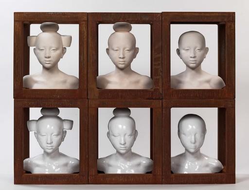 Mauro CORDA - Escultura - Série de têtes