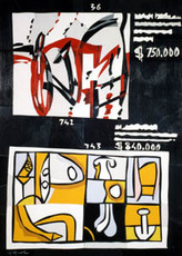 Ugo NESPOLO - Painting - Art at auction 36