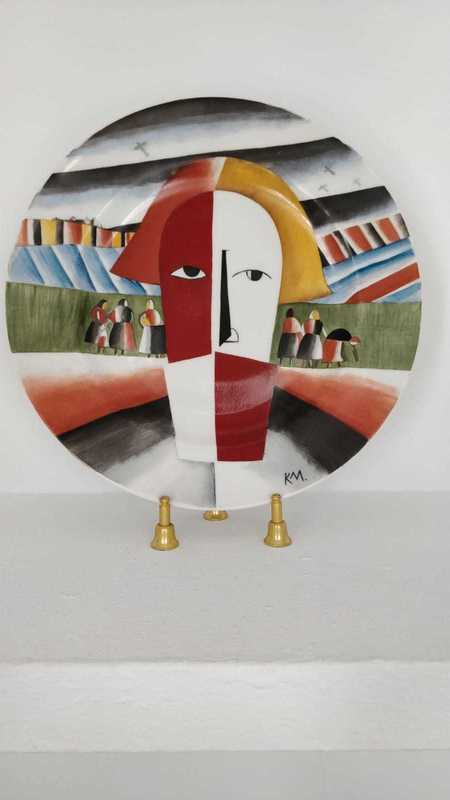 卡西米尔·马列维奇 - 陶瓷  - Head of the peasant