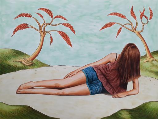 Erlend STEINER LOVISA - Painting - Floor 11    (Cat N° 6383)