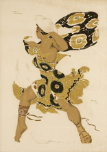 Léon BAKST - Print-Multiple - Costume design for Nijinsky in Narcisse