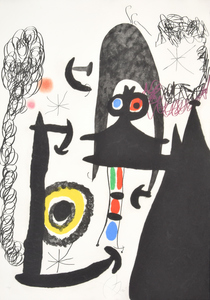 "Joan MIRO - Stampa Multiplo - Joan Miro ""Escalade…"" Etching/Aquatint, Signed Edition"