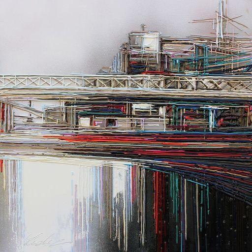 Leslie BERTHET LAVAL - Peinture - N°25 Industrial view