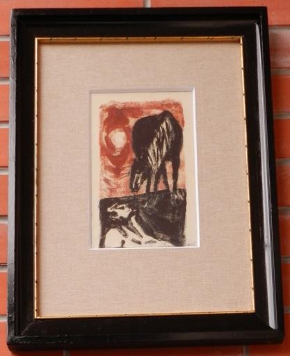 Jan BAUCH - Print-Multiple - Injured horse