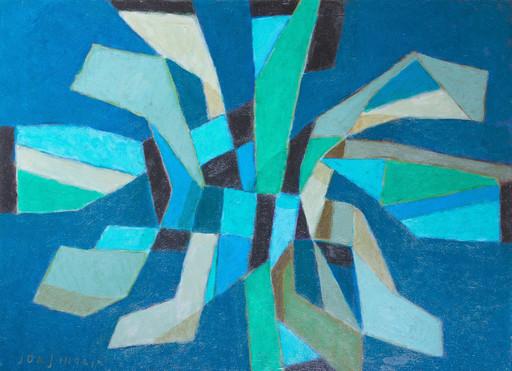 Jorj MORIN - Pittura - Etoile Verte