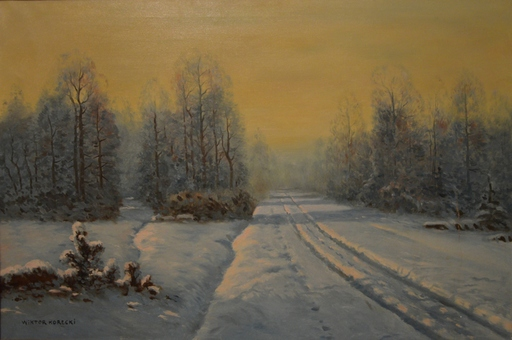 Wiktor KORECKI - Painting