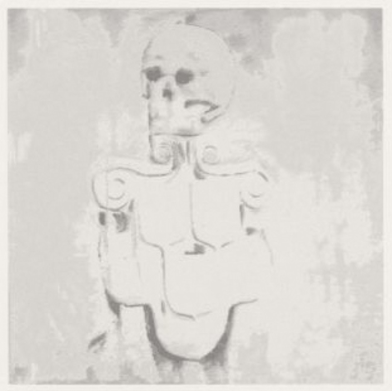 吕克•图伊曼斯 - 版画 - Dead Skull