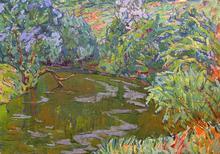"Vassily TCHEGODAR - Pintura - ""Desenka river"""