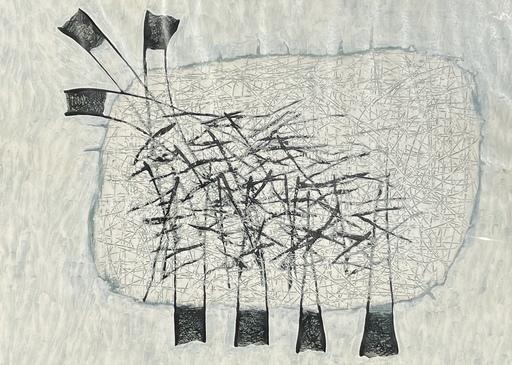 Joseph BANC - Gemälde - Abstraction