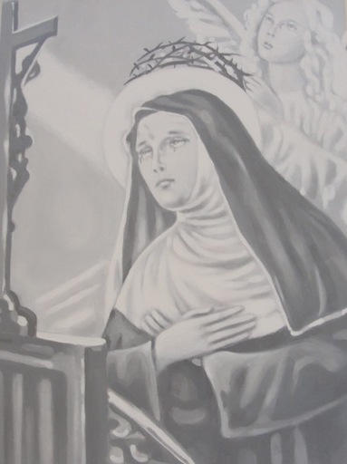 Gian Marco MONTESANO - Peinture - Santa Rita