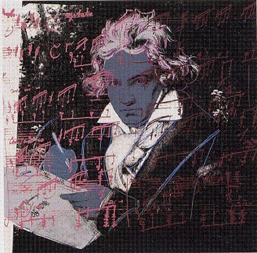 Andy WARHOL - Print-Multiple - Beethoven #391