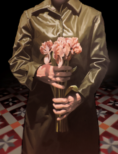 Thierry CARRIER - Painting - Sans titre (code 1605)