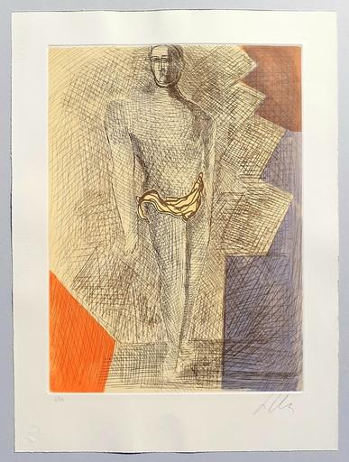 Sandro CHIA - Grabado - Improvvisazioni su Leonardo (cartella completa)