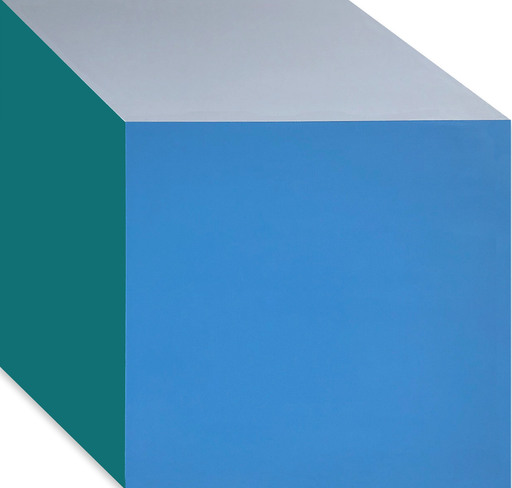 Brent HALLARD - Painting - Blue only you IV