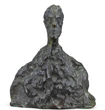 阿尔贝托•贾科梅蒂 - 雕塑 - Petit Buste (Not for Sale)