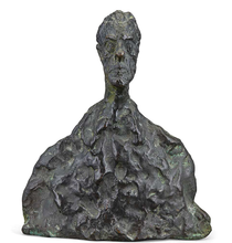 Alberto GIACOMETTI - Sculpture-Volume - Petit Buste (Not for Sale)