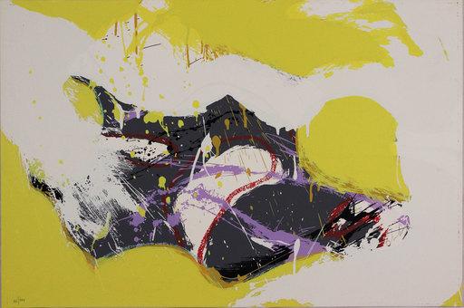 Norman BLUHM - Grabado - Untitled