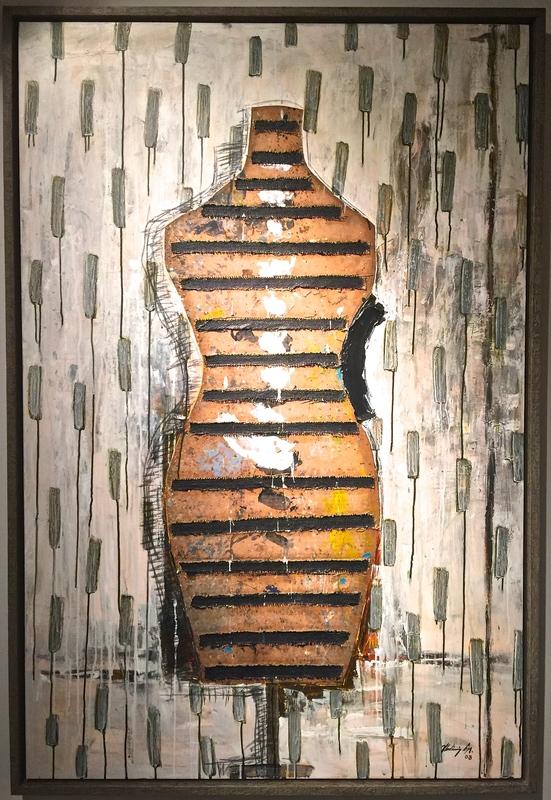 Vladimir CORA - Pintura - Manaqui III