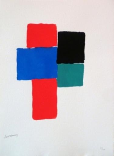 Sonia DELAUNAY-TERK - Grabado - LES ILLUMINATIONS d'Arthur RIMBAUD