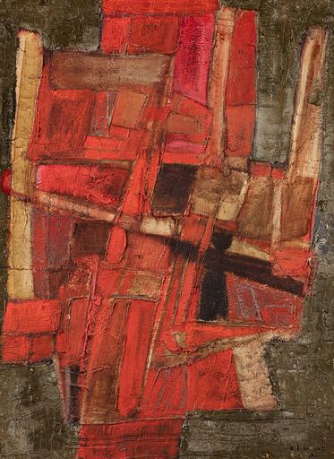 Roger-Edgar GILLET - Pittura - Composition