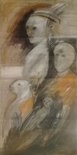 Alirio PALACIOS - Gemälde - sans titre