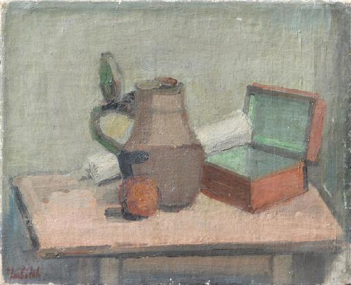 Ossip LUBITCH - Painting - Still-life