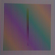 Carlos CRUZ-DIEZ - Grabado - Induction Chromatique à Double Fréquence