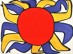 Alexander CALDER, Sun - Our Unfinished Revolution