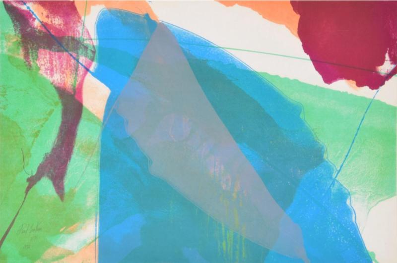 Paul JENKINS - Print-Multiple - Untitled
