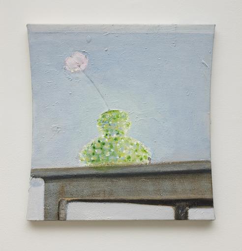 Merlin JAMES - Peinture - Single Flower