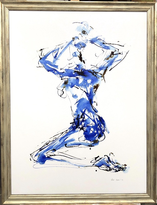 Nicole LEIDENFROST - Gemälde - Pin Up