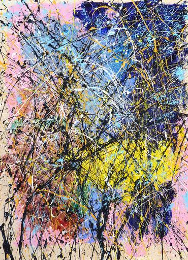 Jean-Jacques MARIE - Gemälde - Composition n°318