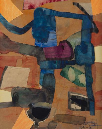 Maurice ESTEVE - Drawing-Watercolor - 48-C