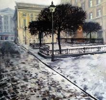 Alise MEDINA - Pintura - last snow