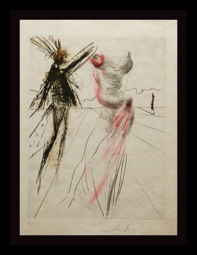 萨尔瓦多·达利 - 版画 - Faust Buste