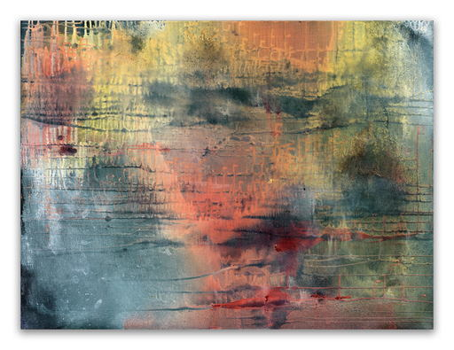 Yari OSTOVANY - 绘画 - Fragments Of Poetry And Silence No. 39