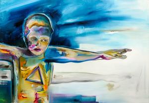 Christian BAZANT-HEGEMARK - Pintura - Mercury