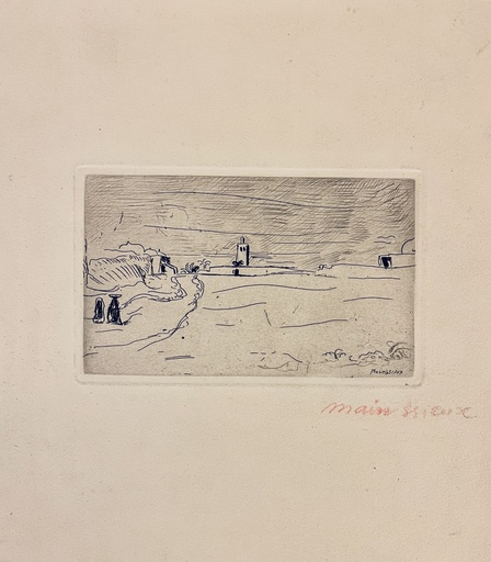 Lucien MAINSSIEUX - Stampa-Multiplo - Paysage