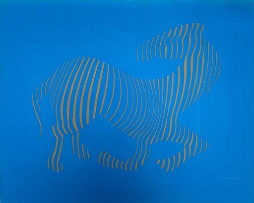 Victor VASARELY - Stampa-Multiplo - Vasarely - Zebra 1989