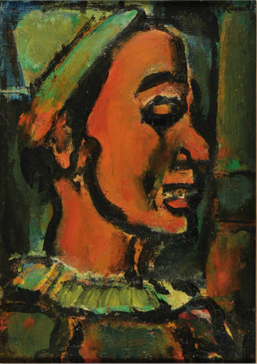 Georges ROUAULT - Painting - Le Clown Jim
