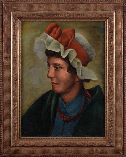 Henri HAYDEN - Gemälde - Portrait of a woman