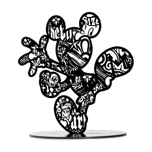 SPEEDY GRAPHITO - Sculpture-Volume - Call me Mick - Black edition