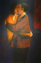 Francis BERTHAULT - Peinture - calin derobe