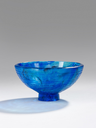"François-Emile DECORCHEMONT - BOWL ""FRUITS"", MODEL 282, 1925"