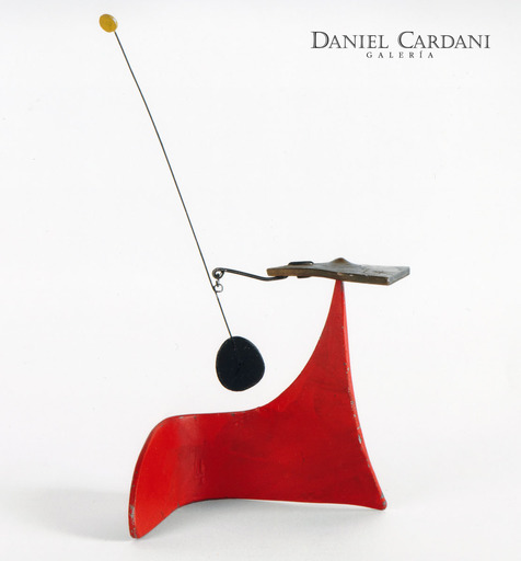 Alexander CALDER - Sculpture-Volume - Red Snail