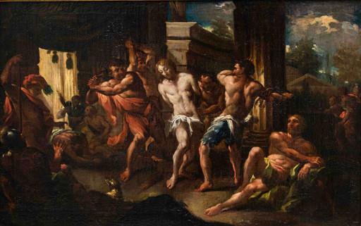 Michele ROCCA - Gemälde - Flagellation of Christ