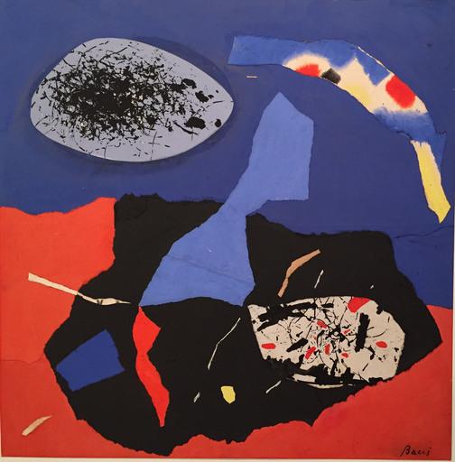 Edmondo BACCI - Painting - Senza titolo, 70's