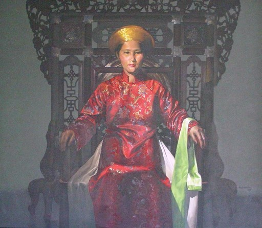 Đỗ Quang EM - Painting - Portrait of Than Nhan