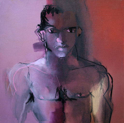 Klaus Karl MEHRKENS - Painting - klein figur